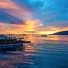 Sunset Harbour, Kota Kinabulu, Sarawak, Borneo, Malaysia