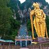 Sri Subramaniaswamy Temple - Murugan Statue, Batu Caves, Kuala Lumpur, Malaysia