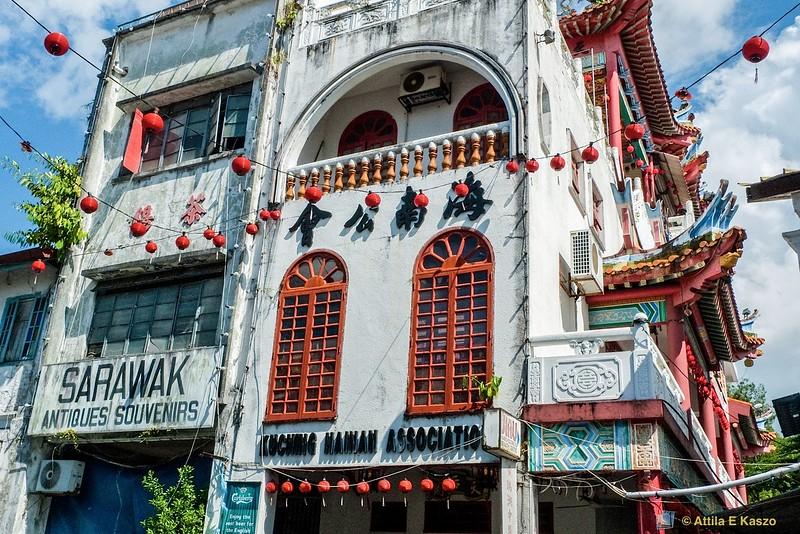 Chinese Restaurant, Kuching, Borneo, Malaysia
