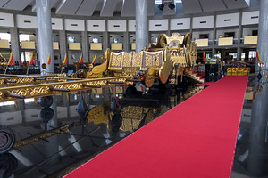 All the regalia from the royal coronation as well as gifts to the Sultan from other heads of state are housed in their own public museum.