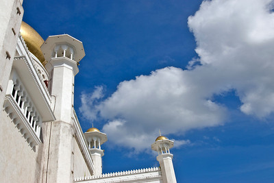Minarets and Sky - Brunei