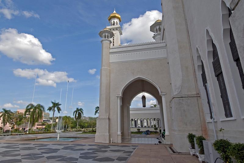Mosque Entrance - Brunei