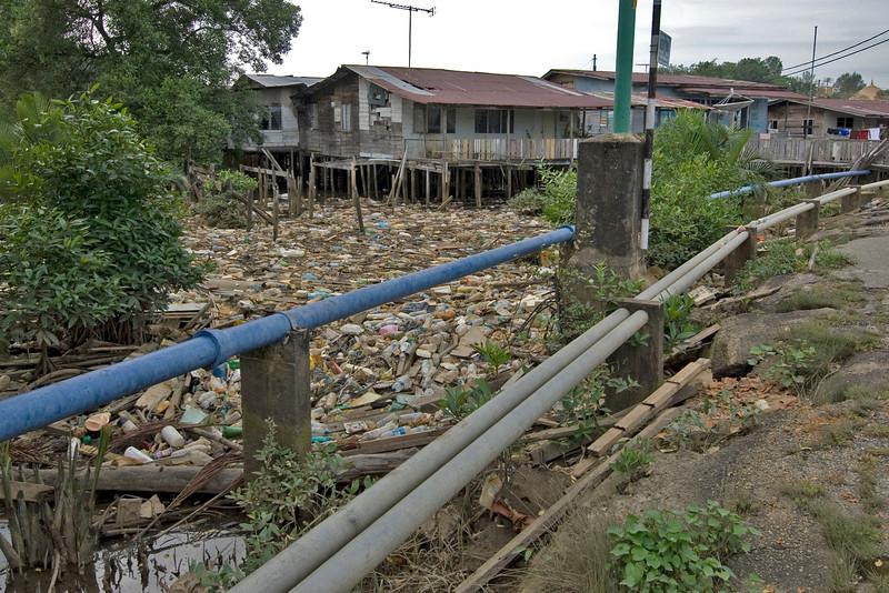 Slum near Mosque 2 - Brunei