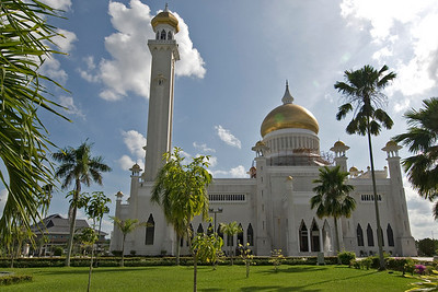 Mosque Front view - Brunei
