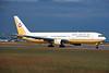 """V8-RBG Boeing 767-33AER """"Royal Brunei Airlines"""" c/n 25532 Frankfurt/EDDF/FRA 08-06-97 (35mm slide)"""