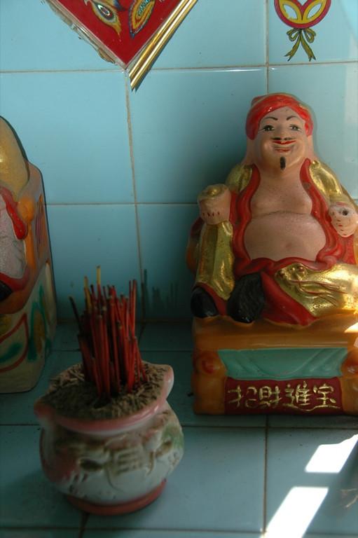 Altar Decor - Mekong Delta, Vietnam