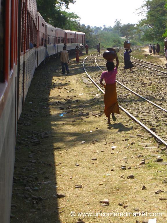 Train Station - Bagan, Burma