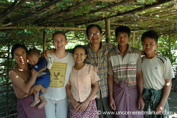 Visit to a Burmese Village - Toungoo, Burma