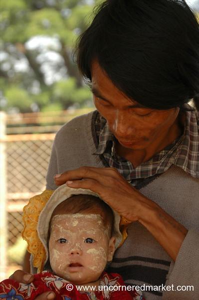 Proud Father - Toungoo, Burma