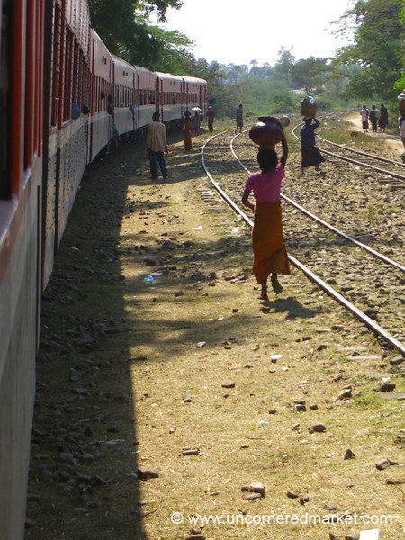 Train Station - Bagan, Burma