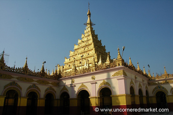 Maha Muni Pagoda - Mandalay, Burma
