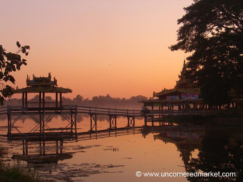 Sunset in Toungoo - Toungoo, Burma