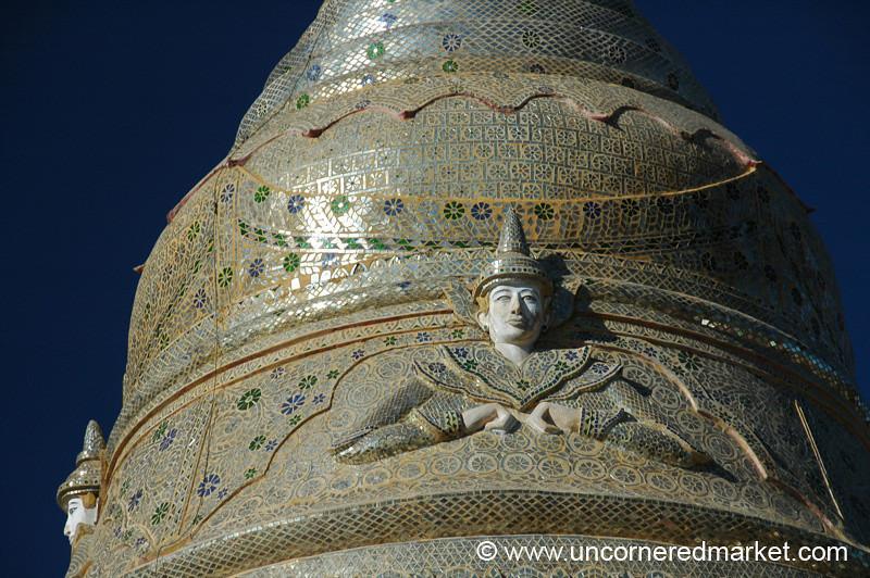 Pagoda's Spire - Kalaw, Burma
