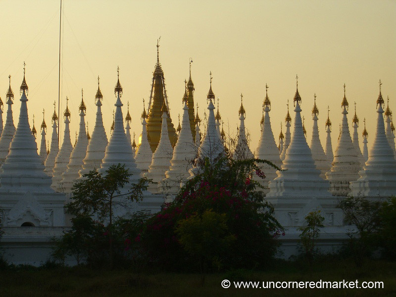 Sandamani Paya Stupas - Mandalay, Burma