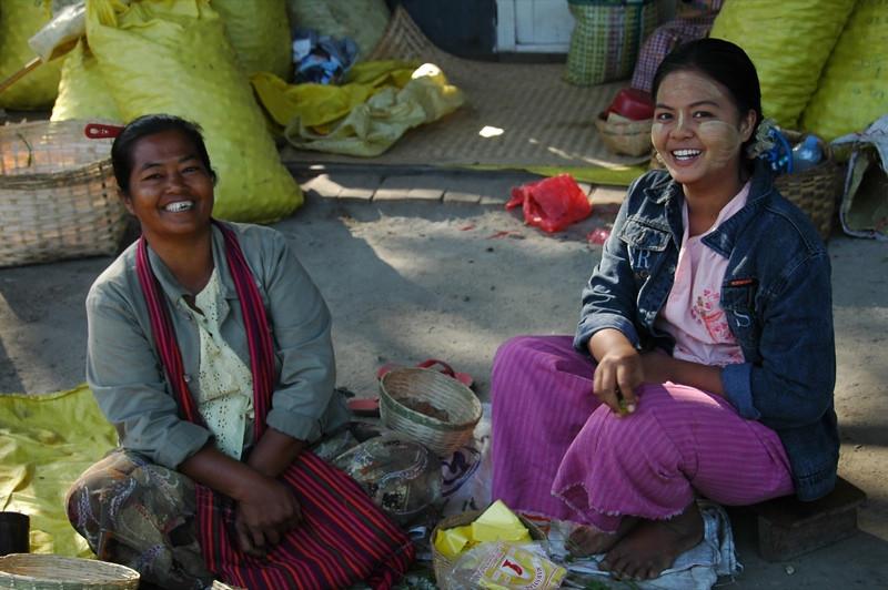 Women at the Marketf - Toungoo, Myanmar
