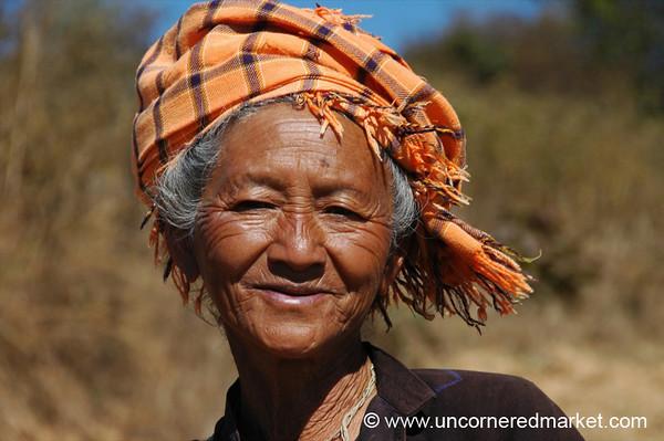 Ethnic Pao Woman - Shan State, Burma