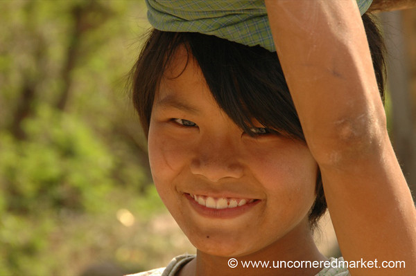 A Smile in Burma - Inle Lake, Burma