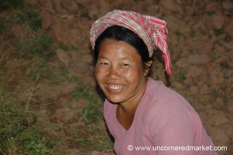 Friendly Villager - Yar Pu, Burma