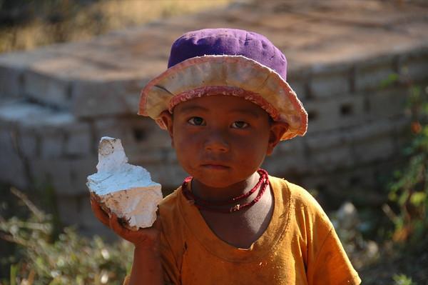 Burmese Boy - Kalaw, Myanmar