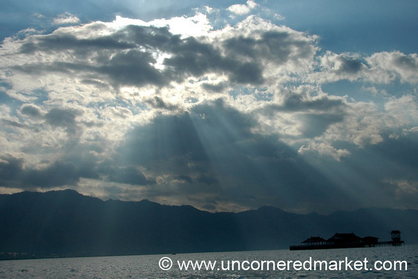 Shining Light  - Inle Lake, Burma