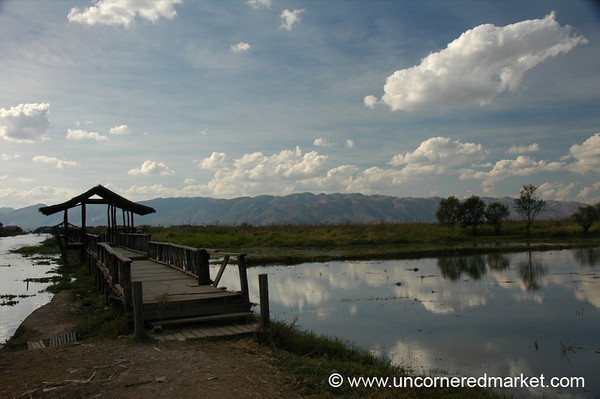 Afternoon Reflections - Inle Lake, Burma