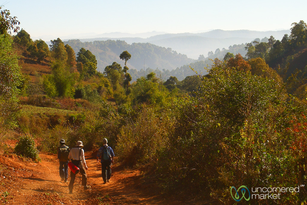Hiking - Inle Lake, Burma