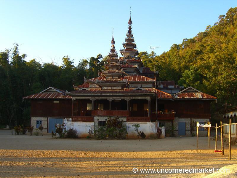 Buddhist Monastery - Inle Lake, Burma