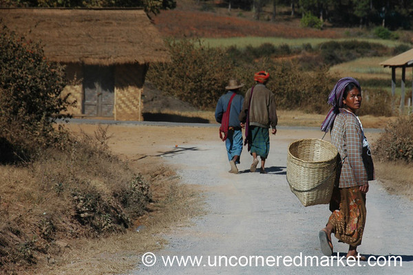 Rural Burma, Trek to Inle Lake, Burma