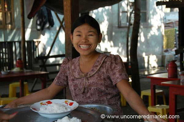 Big Burmese Smile - Mandalay, Burma