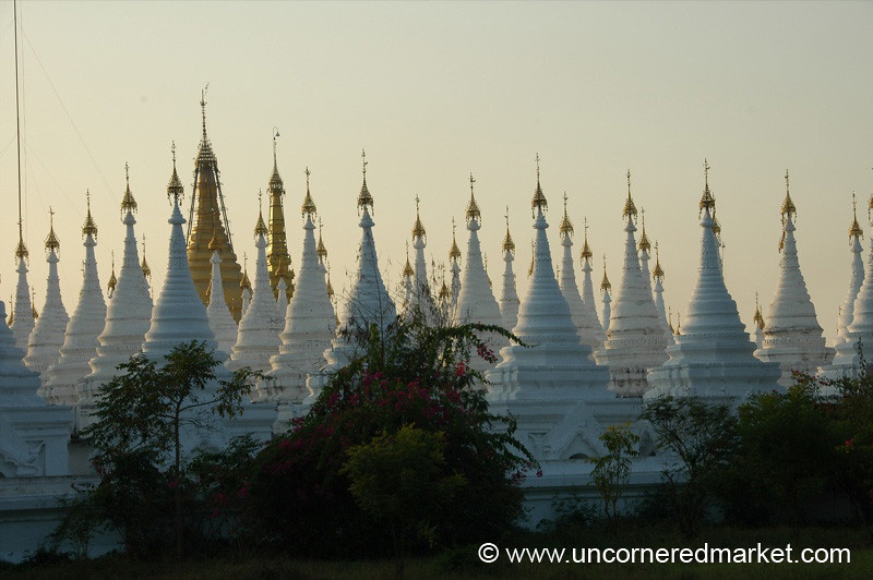 Sandamani Pagoda at Dusk - Mandalay, Burma