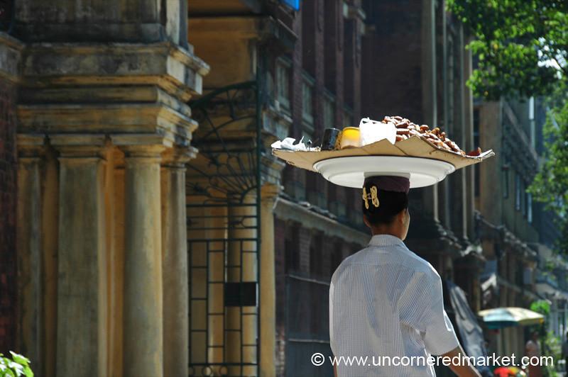 Street Food Vendor - Rangoon, Burma (Yangon, Myanmar)