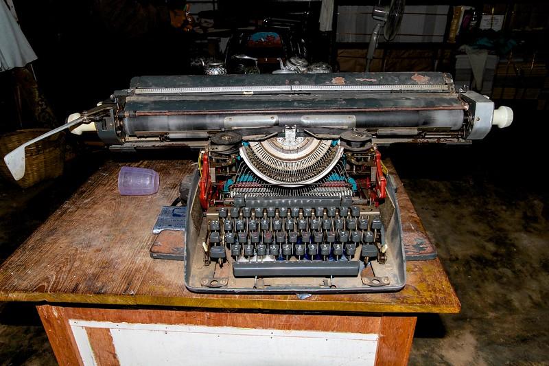 Myanmar Bagan Schreibmaschine