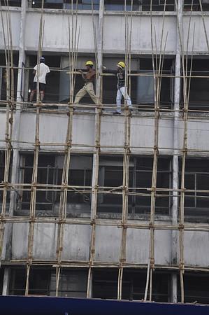 Bamboo Scaffolding Yangon