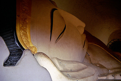 Lying Budha in a nearby monument...
