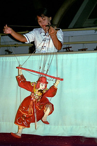 Myanmar (Burma) marionettes...