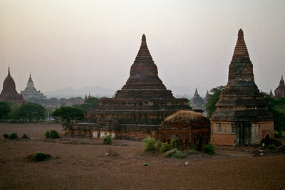 The reason I made the trip in the first place...Bagan!