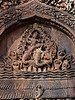 More intricate carvings at Banteay Srei (the Women's Temple)...