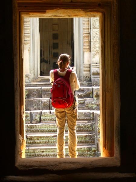 Audrey Takes Photos at Banteay Samre - Angkor, Cambodia
