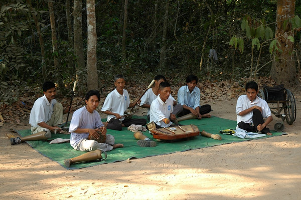 Musical Group - Angkor, Cambodia
