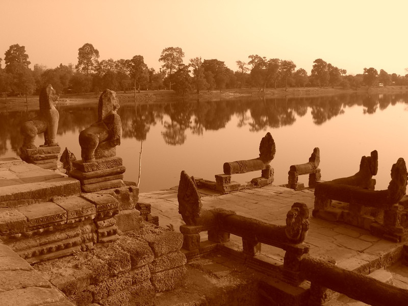 Morning Light - Angkor, Cambodia