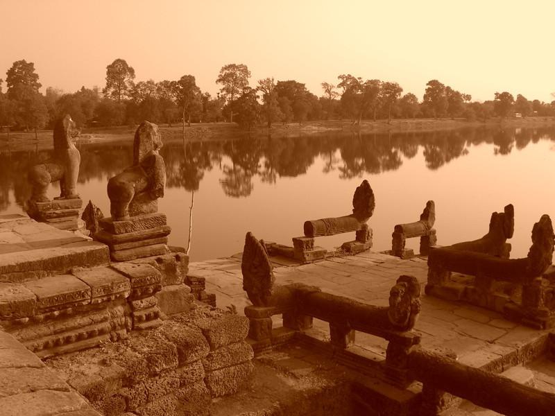 Morning Light - Angkor, Cambodia