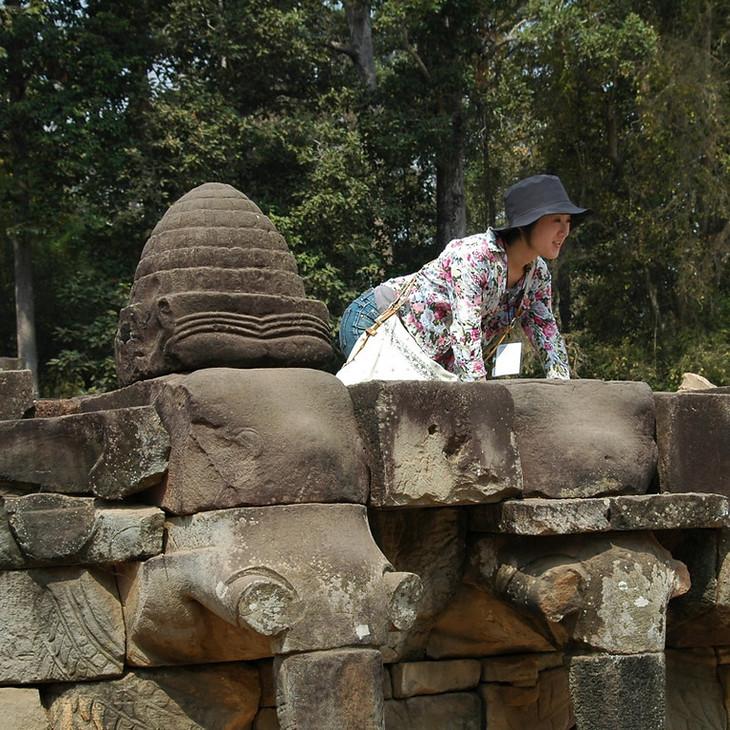 Tourist - Angkor, Cambodia