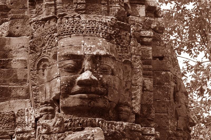 The Face of Ta Som - Angkor, Cambodia