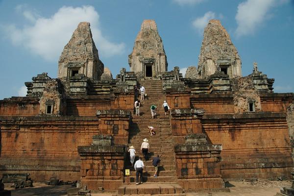 Steps at Pre Rup - Angkor, Cambodia