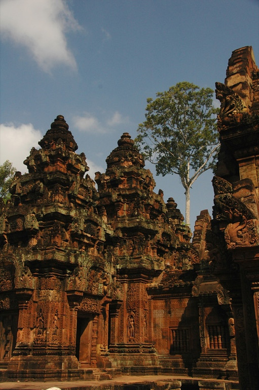 Towers of Banteay Srei - Angkor, Cambodia