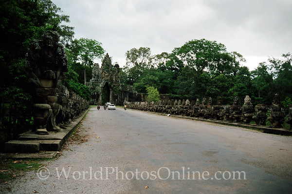 Siem Reap - Angkor Thom - South Gate - Churning Ocean