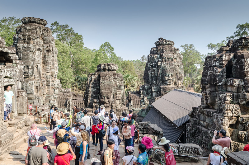It was a busy day at The Bayon.