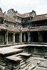 Siem Reap - Angkor Wat - Ceremonial Pool in Temple