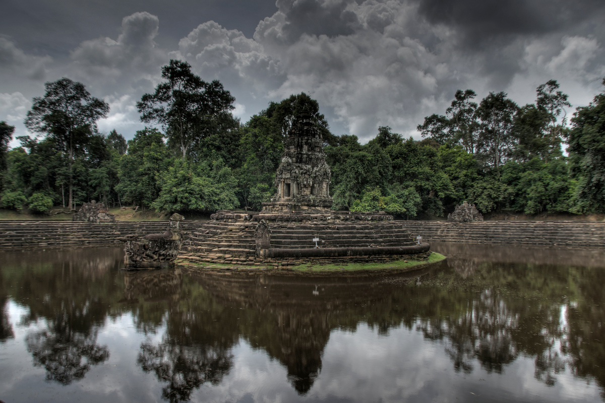Neak Pean Temple, Angkor, Cambodia