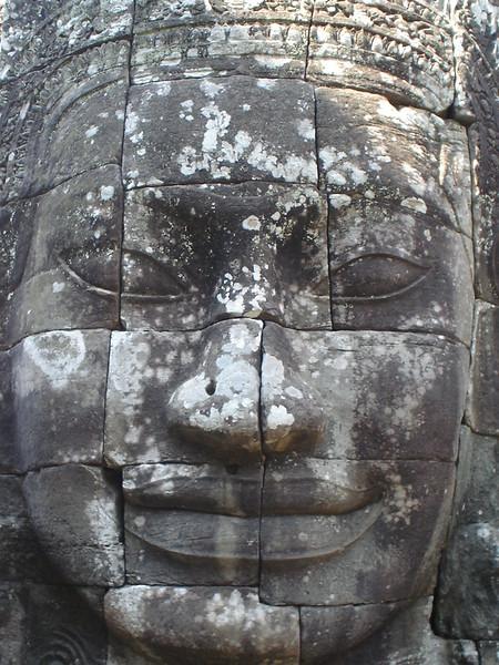 Bayon Face, Angkor - Cambodia